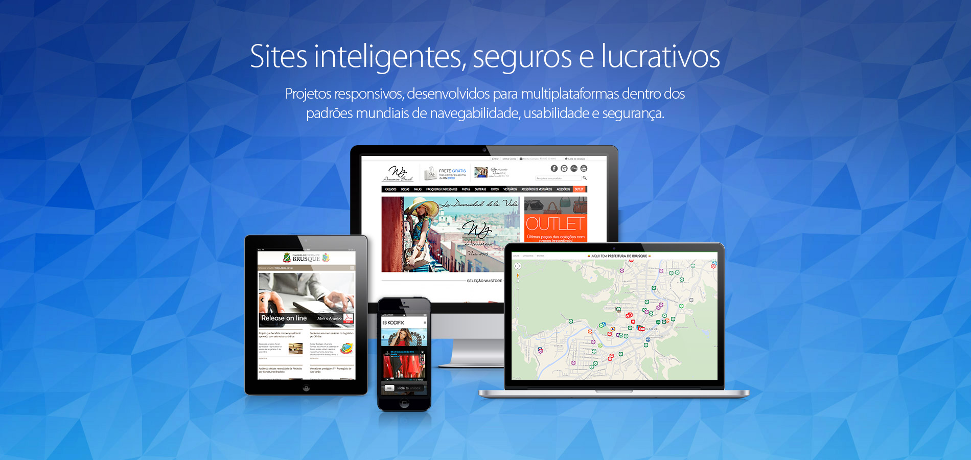 Sites inteligentes, seguros e lucrativos